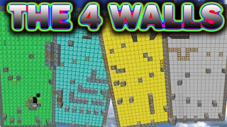 INSANE WALL PARKOUR (Minecraft The 4 Walls Parkour)