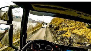 POV Driving Scania S520 - Odda - Ålvik Rv13 (Part 1/3)