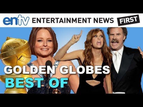 GOLDEN GLOBES 2013 Best Moments: Jodie Foster Comes Out, Kristen Wiig & Will Ferrell and More!
