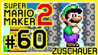 SUPER MARIO MAKER 2 # 60 👷 Zuschauerlevel: Rubinrot, gidi30, CoopersCastle, bieeeeeb, FloweyXD