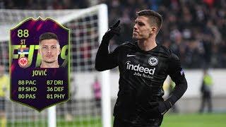 FIFA 19 - FUTURE STAR LUKA JOVIC (88) PLAYER REVIEW