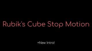 Stop Motion Rubik's Cube Solve!