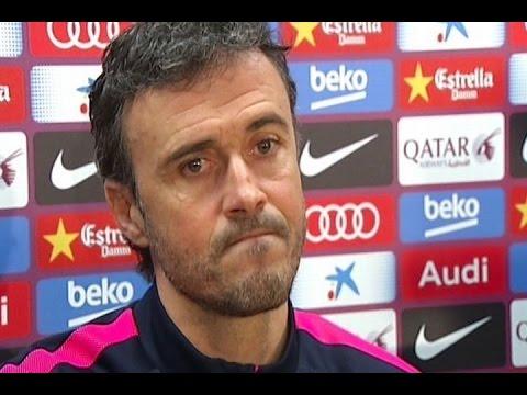 Luis Enrique, seguro de que Messi seguirá en el Barça