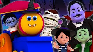 Halloween Family   Bob The Train Cartoons   Nursery Rhymes & Halloween Songs For Kids