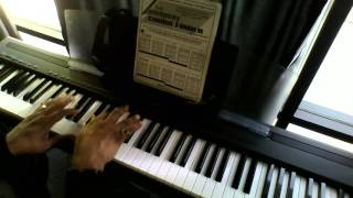 Piano Tutorial on He's Alive By Eddie James