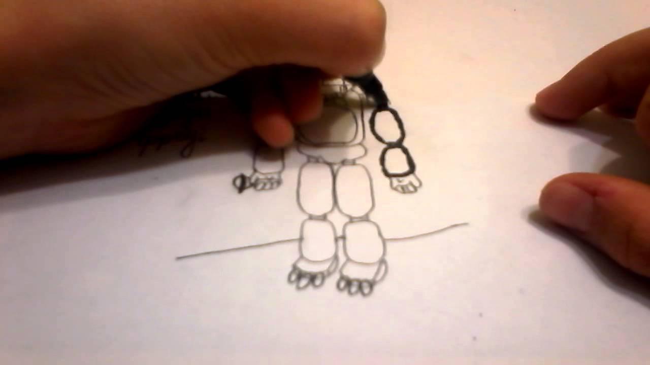 Как нарисовать фредди поэтапно фото 111