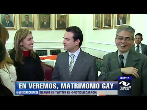 Matrimonio gay, a punto de hundirse en Congreso colombiano - 27 de marzo de 2013