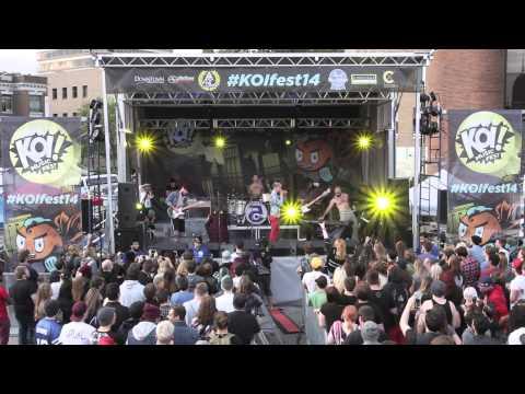 Foxy Shazam - Holy Touch (Live @ KOI Music Fest 14)
