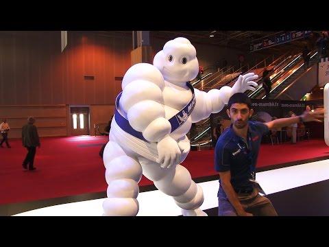 Passeggiata sullo stand Michelin al Salone di Parigi 2014
