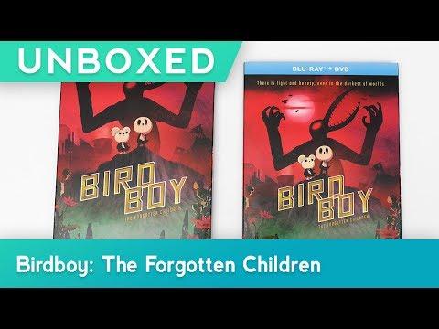 GKIDS UNBOXED | BIRDBOY: THE FORGOTTEN CHILDREN | BLU-RAY + DVD UNBOXING