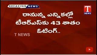 TRS Party Achieved 43 vote percentage In Electoral Survey   Live Telugu - netivaarthalu.com