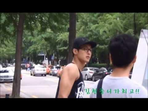 20130730 유희열의 스케치북   간식먹고 돌아오는 김현중 KIM HYUN JOONG