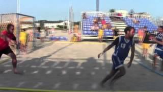 Giorno #6 - EURO 2013 Beach Handball: Italia - Svezia 0-2