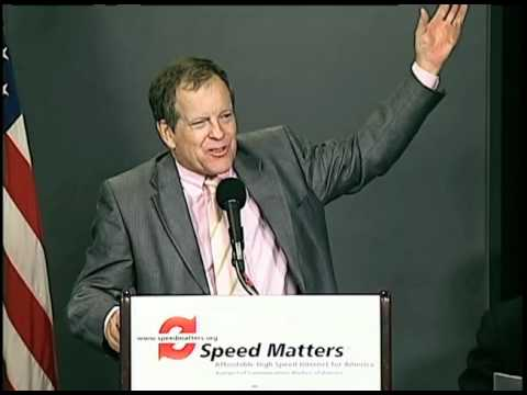 Speed Matters: Sierra Club Chairman Carl Pope at the Internet Speed Report Launch Event