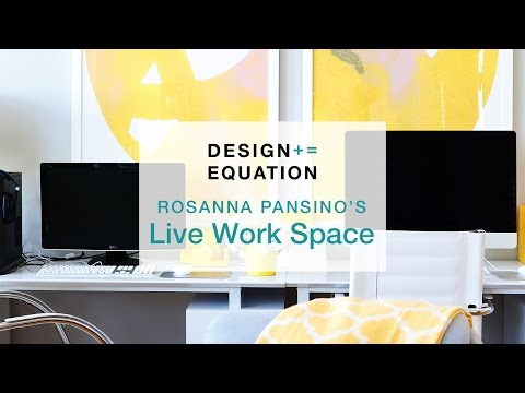 Rosanna Pansino's Live Work Space