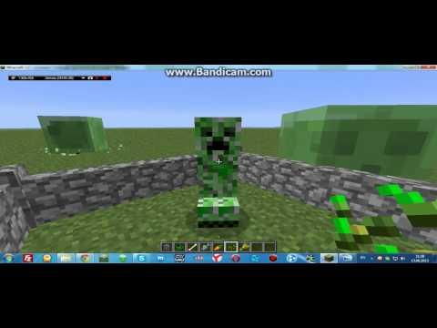 Как приручить крипера в MineCraft?
