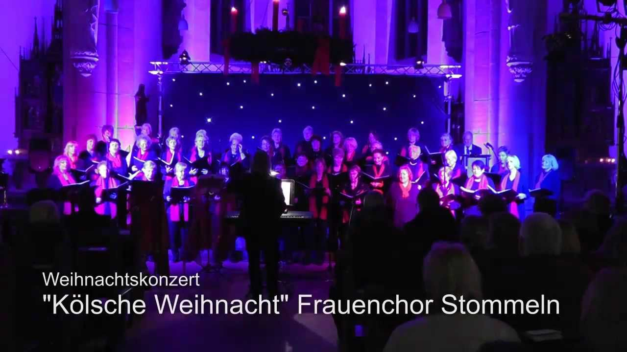 weihnachtskonzert frauenchor stommeln 2013 youtube. Black Bedroom Furniture Sets. Home Design Ideas