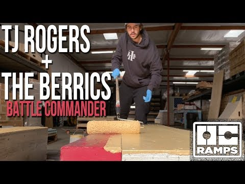 Skateboarder builds his own ramps for The Berrics