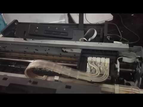 Cara Memperbaiki Printer Epson L1300. General Error (cartridge tidak bergerak sama sekali)