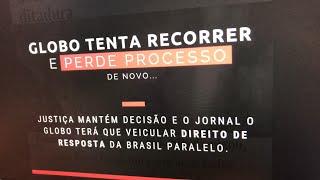 Globo tenta recorrer e perde processo de novo