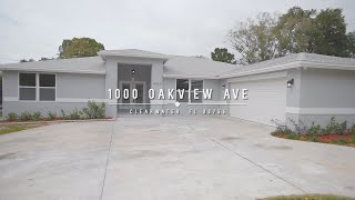 1000 Oakview Avenue Clearwater Florida Home Tour HGTV Dream Home Airbnb Renovation