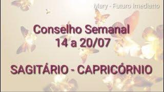 Sagitário / Capricórnio 14 a 20/07   FUTURO IMEDIATTO watts 11 96707 2846 Mary