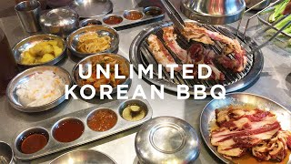 #GUTOM: Samgyupsalamat Review | Unlimited Korean BBQ | Best Korean Food | Len Buenaobra
