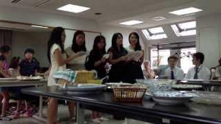 """""""Megumi song"""" at Osaka Seventh Day Adventist Church-Japan"""