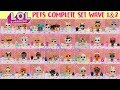 LOL Surprise Pets Series 3 Wave 1 And Wave 2 Complete Set All Gold Balls Found mp3