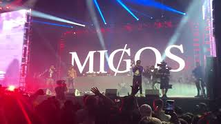 Migos W Cardi B And Nicki Minaj Motorsport Live At Rolling Loud