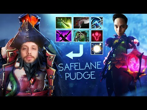 SAFELANE PUDGE CARRY MR GORGC CHILD (SingSing Dota 2 Highlights #1039)
