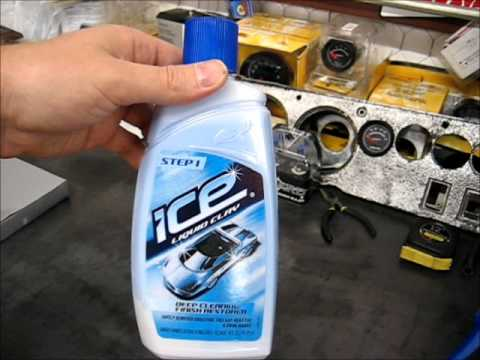 Turtle Wax Ice Clay Bar Kit Unobxing and Review