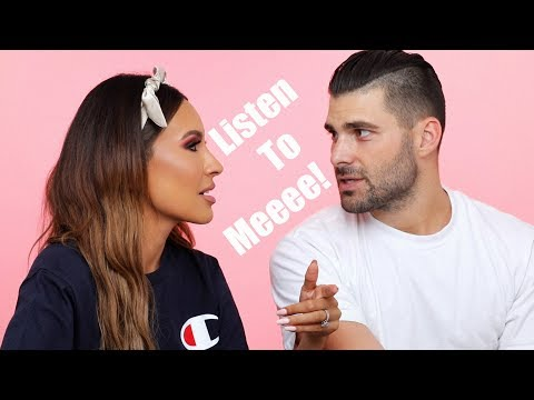 HUSBAND Q&A: HIDDEN TATTOOS, RELATIONSHIP ISSUES, WORKING TOGETHER | DESI PERKINS thumbnail