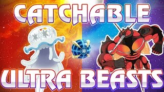 CATCHING ULTRA BEASTS! HUGE NEWS! Ultra Beasts Obtainable in Pokemon Sun and Moon, All TMS Revealed!