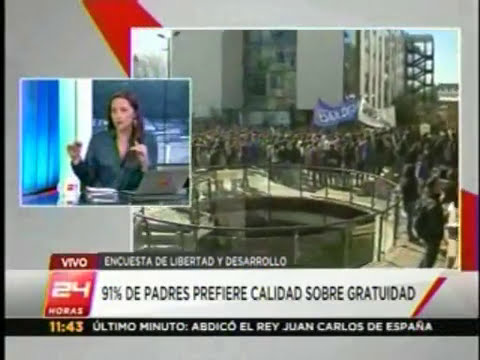 24 Horas Entrevista: Alejandra Candia, directora del programa social de LYD