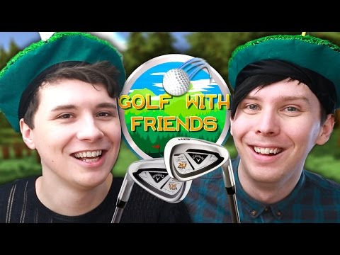 BATTLE OF THE BALLS - Dan vs. Phil: Golf With Friends