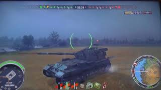world of tanks FV(183) 7800 dano xbox 360