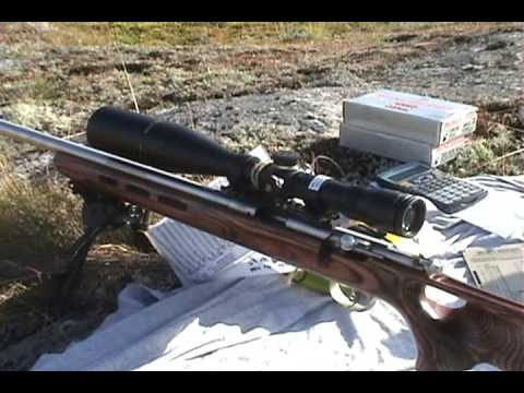 Long Range Shooting  22 LR Rimfire 400 Yards Savage Mark II BTVS
