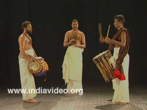 Melappadam, Instrumental Music, Kathakali, Keli, Classical Dance Drama, Kerala video