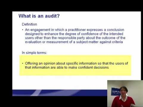 What is an audit Masterclass by Kaplan