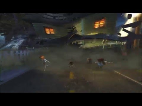 Monster House PS2 Walkthrough Part 8 No Commentary The Chase