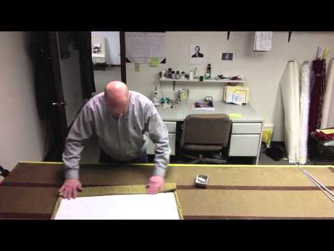 how to make roman blinds youtube
