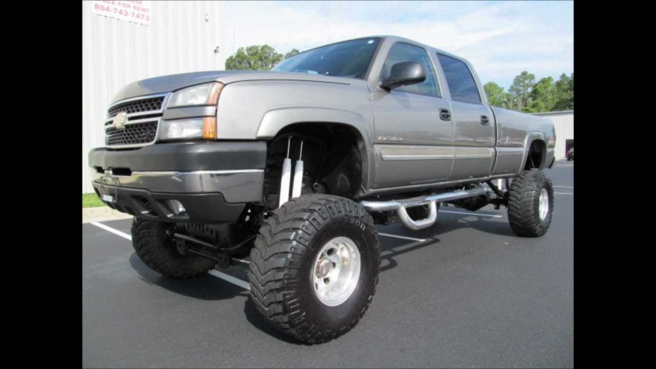 2006 chevy silverado 2500hd lifted truck for sale youtube. Black Bedroom Furniture Sets. Home Design Ideas