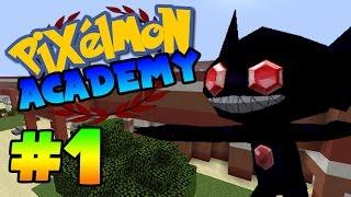 Pixelmon Academy - THE NEW KID? Episode 1 (Minecraft Pixelmon Roleplay)