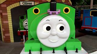 Thomas and Friends Rides Percy James in Thomas Land Japan