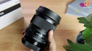 แกะกล่อง SIGMA 50mm f1.4 DG