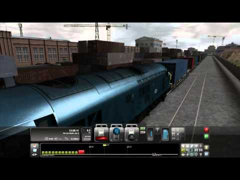 Train Simulator 2012 / Moving Boxes / UK Class 37