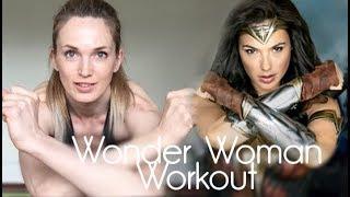 Тренируйся как Чудо Женщина. Интервальная тренировка #18. Wonder Woman workout