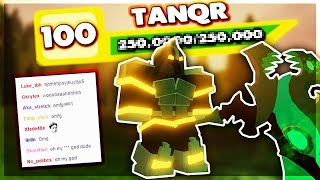 REACHING TOP RANK *LIVE REACTION* LEVEL 100 | Roblox: Dungeon Quest