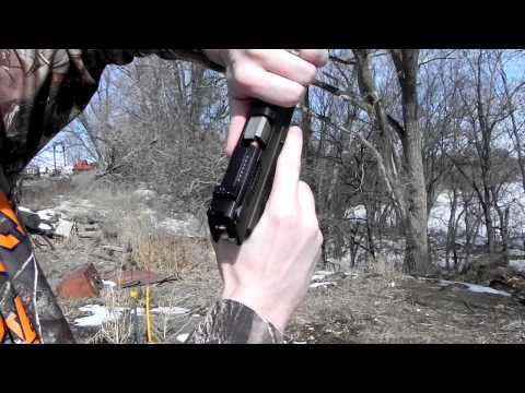 Ruger P95 9mm pistol jamming